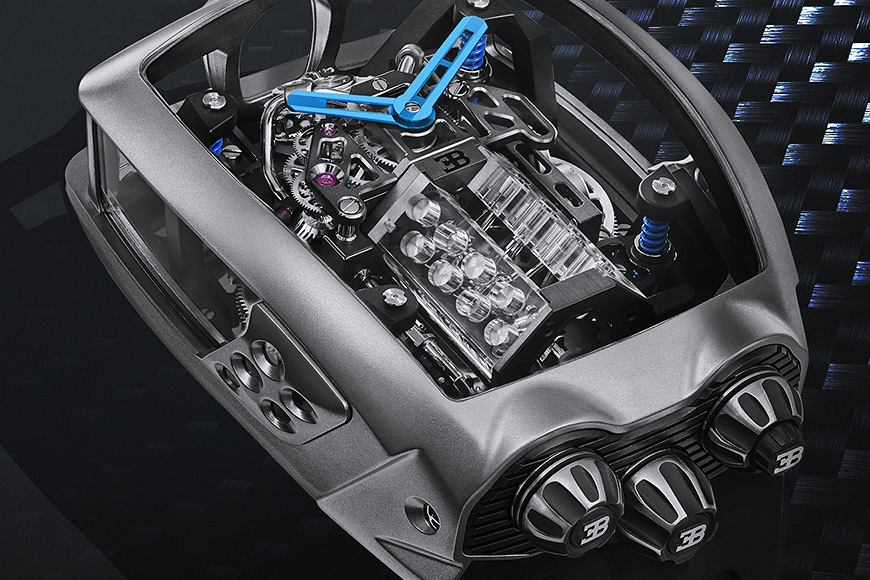 Zdjęcie numer 2 w galerii - Bugatti Chiron jako zegarek. Oto najnowsze dzieło Jacob and Co