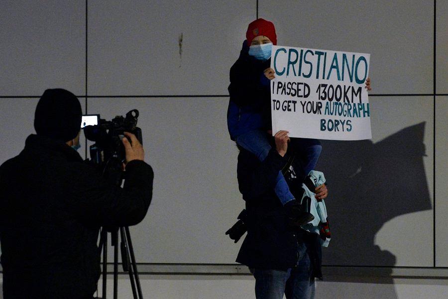 Polski kibic pojechał do Serbii, aby spotkać Cristiano Ronaldo i przeżył wielki zawód