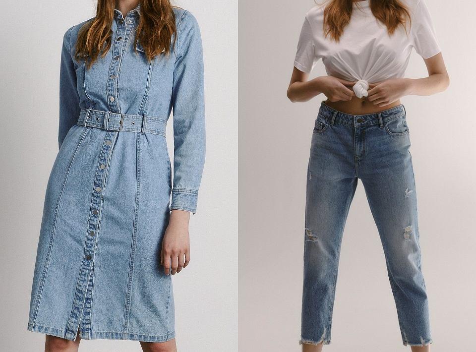 Ubrania z kolekcji 'Eco aware denim'
