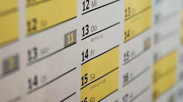 Wielkanoc 2021: Które dni będą wolne od pracy?