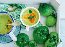 Chłodnik z zielonych pomidorów - ugotuj
