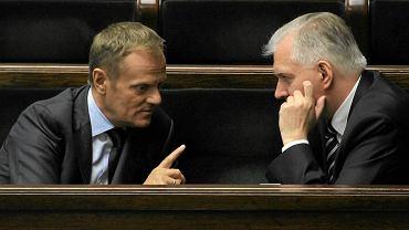 Donald Tusk i Jarosław Gowin