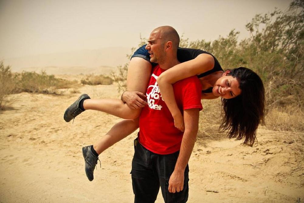 Sara z mężem Sefim Shalam (fot. archiwum prywatne)