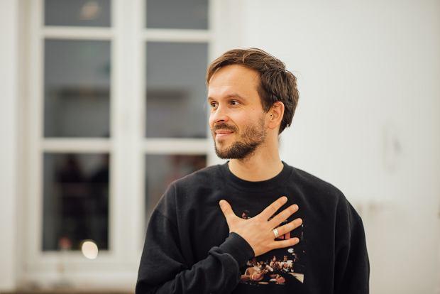 Andrzej Woźniak, nauczyciel kontakt improwizacji (fot: Bartek Bartosiński)