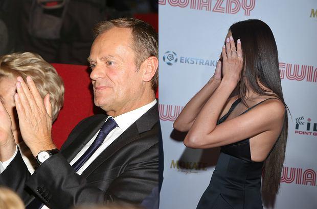 Zdjęcie numer 0 w galerii - Donald Tusk, politycy PO, a obok WAGs i celebryci. Takiego zestawu gwiazd nie było na żadnej imprezie