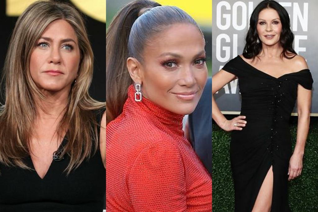 Jennifer Aniston, Jennifer Lopez, Catherine Zeta-Jones