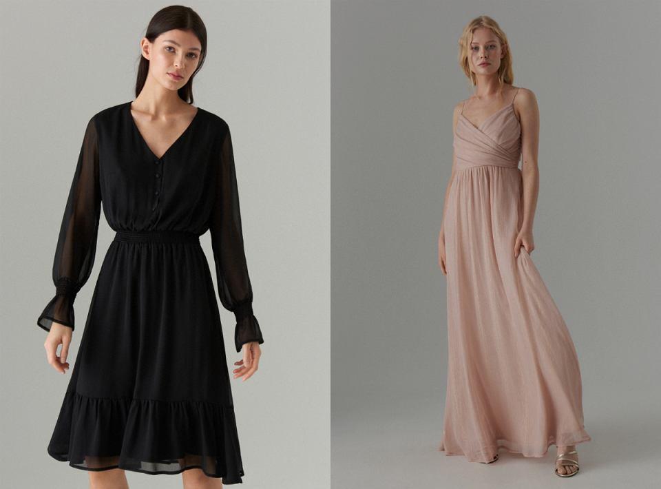 Szyfonowe sukienki na wieczór!