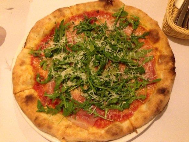 Pizza w Gamberorosso