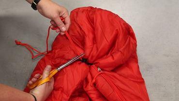 Decathlon zamieścił na swojej stronie ostrzeżenie o śpiworze dziecięcym razem z instrukcją, jak go naprawić, by jego użytkowanie było bezpieczne