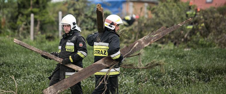 Skutki nocnych burz na południu Polski. Ponad 800 interwencji strażaków