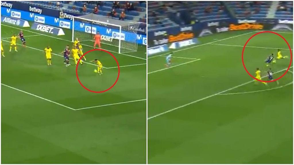 Gol w meczu Cadiz z Levante padł dzięki akcji przez całe boisko i wybiciu piłki po rzucie rożnym