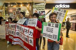 Na południu Chin strajkuje największy światowy producent obuwia sportowego - marek Nike, Reebok i Adidas
