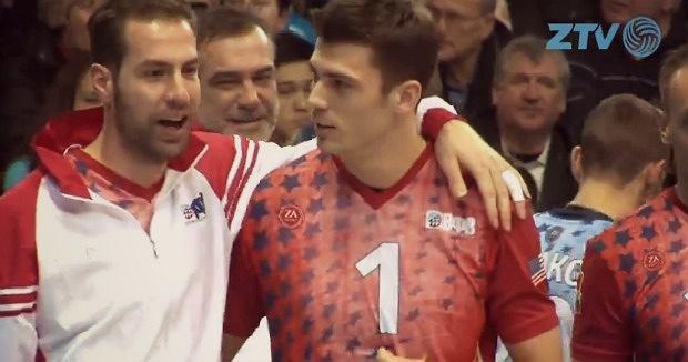 Dragan Travica i Matthew Anderson