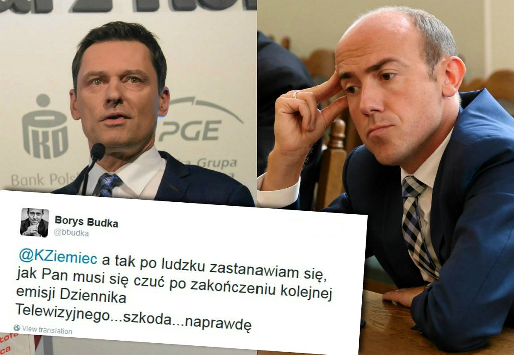 Krzysztof Ziemiec i Borys Budka