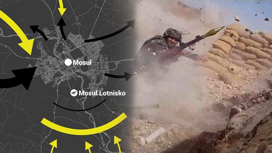 Trwa bitwa o Mosul