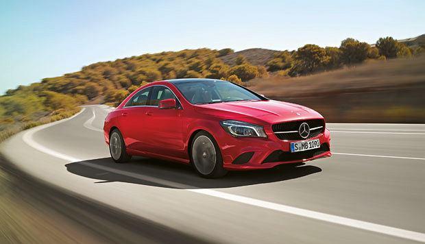 samochody, Samochody: najciekawsze premiery, Mercedes CLA