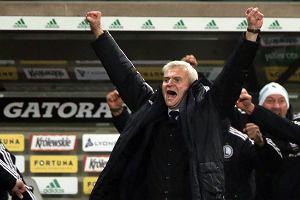 Lech - Legia 1:2. Jacek Magiera: Wejście Kaspra Hämäläinena miałem zaplanowane
