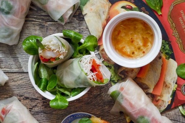 Papier ryżowy - spring rolls