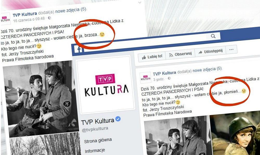 TVP Kultura i dwie wersje wpisu