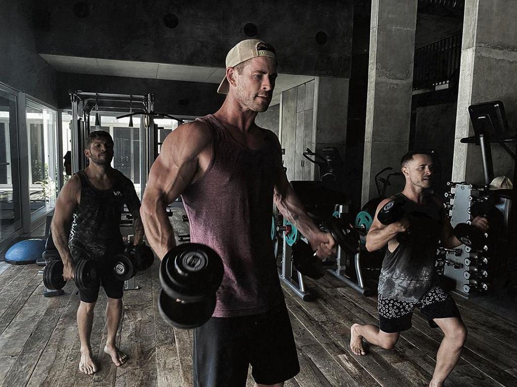 Chris Hemsworth - trening