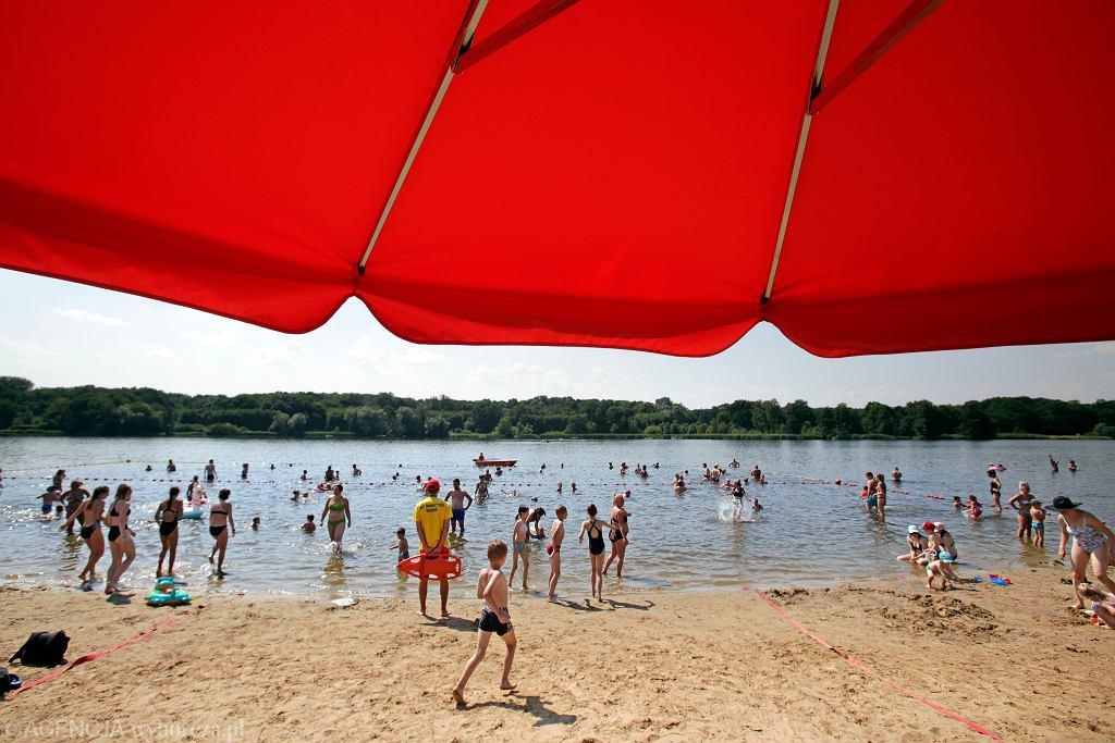 Plaża nad Jeziorem Rusałka w Poznaniu