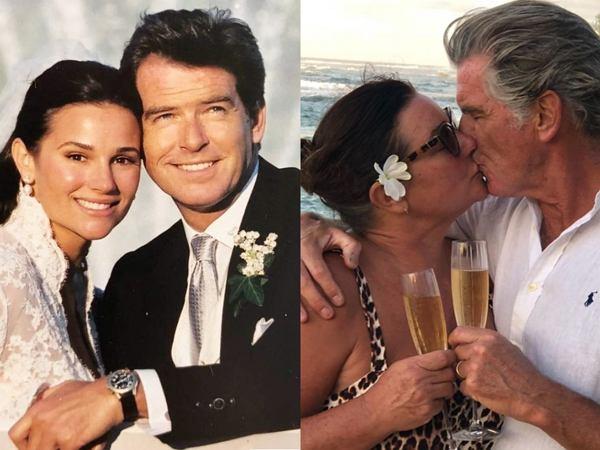 Pierce Brosnan i Keely Shaye Brosnan świętują 19. rocznicę ślubu. Poprzednie małżeństwo aktora zakończyło się tragedią
