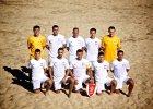 Reprezentanci Polski uczyli beach soccera