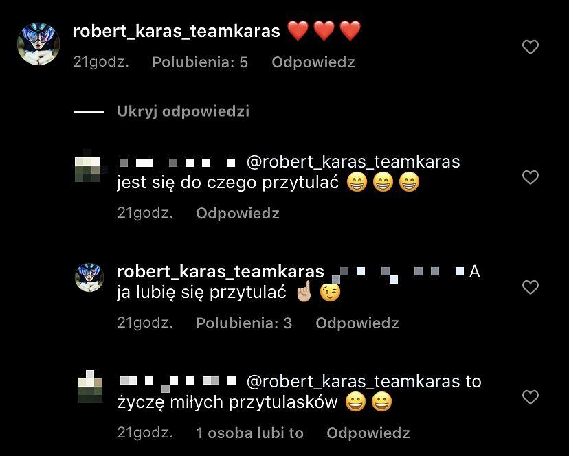 chłopak Agnieszki Włodarczyk komentuje