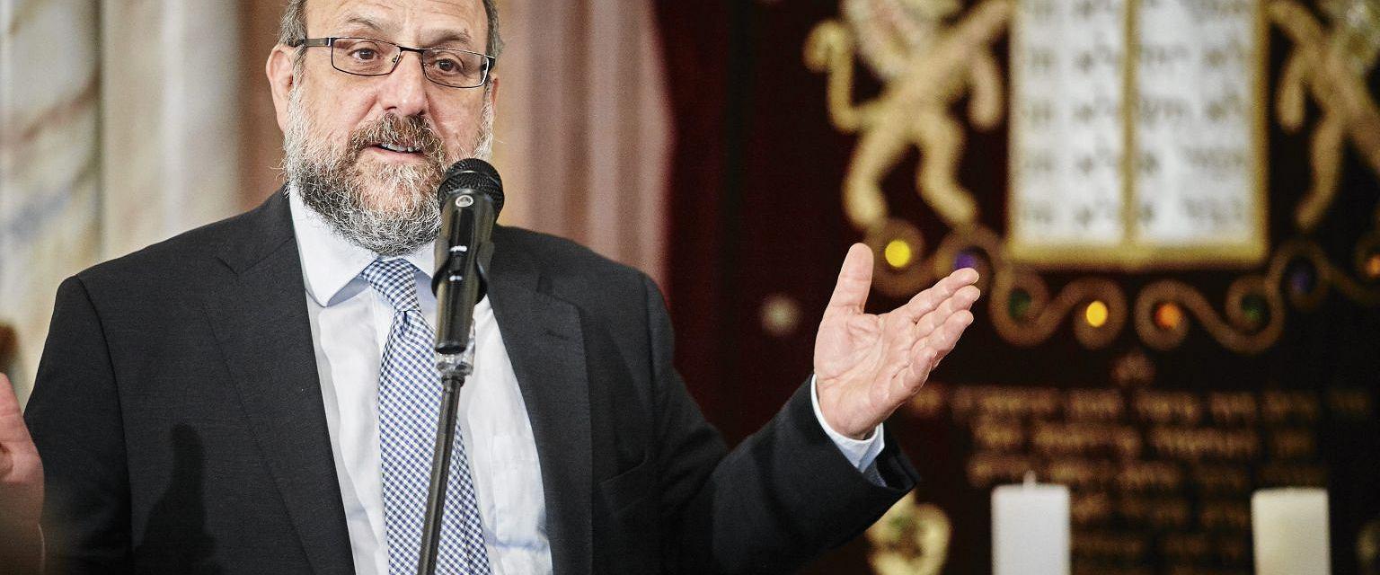 Naczelny Rabin Polski Michael Schudrich (fot. Marcin Stępień/AG)