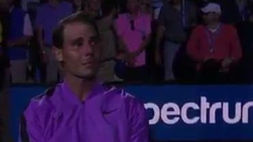 Rafael Nadal Emotional Nadal celebrates 4th US Open title
