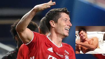 Bayern pokazał zdjęcie Lewandowskiego z trofeum Ligi Mistrzów