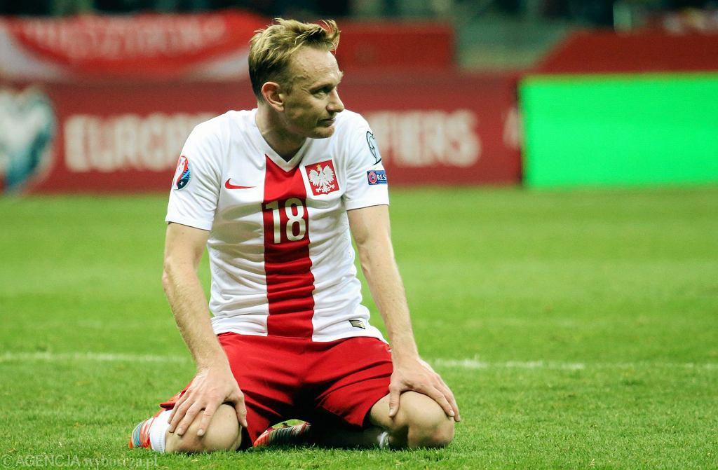 Polska - Szkocja na Stadionie Narodowym. Sebastian Mila