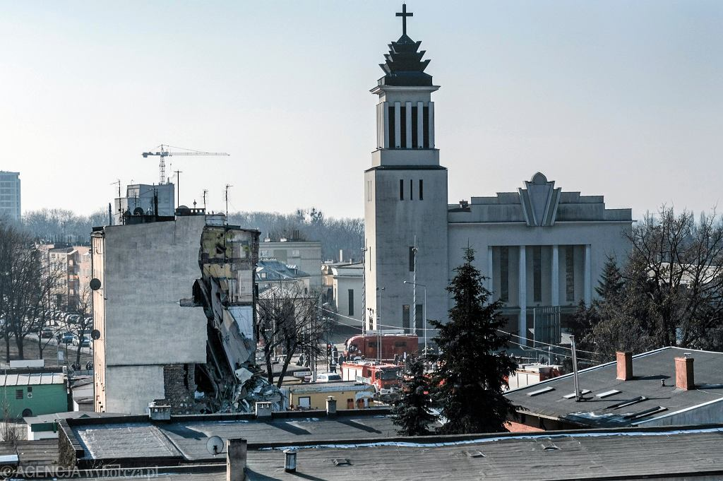 Poznań. Kamienica przy ul .28 czerwca 1956 w której doszło do wybuchu gazu