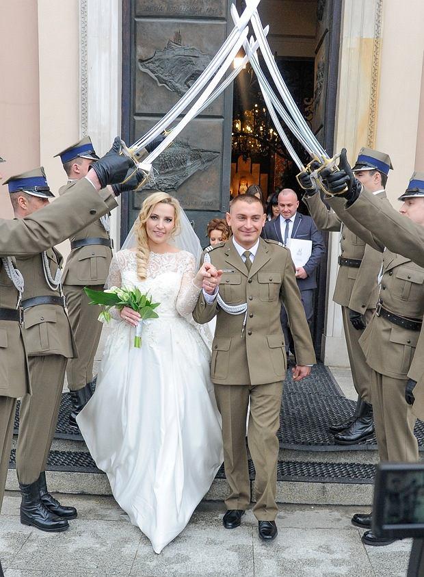 Sylwia Gruchała Wzięła ślub z Markiem Bączkiem