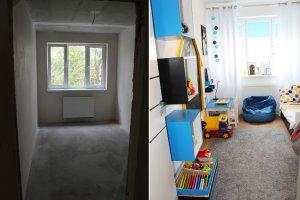 Pomysłowy pokój dla chłopca w bloku