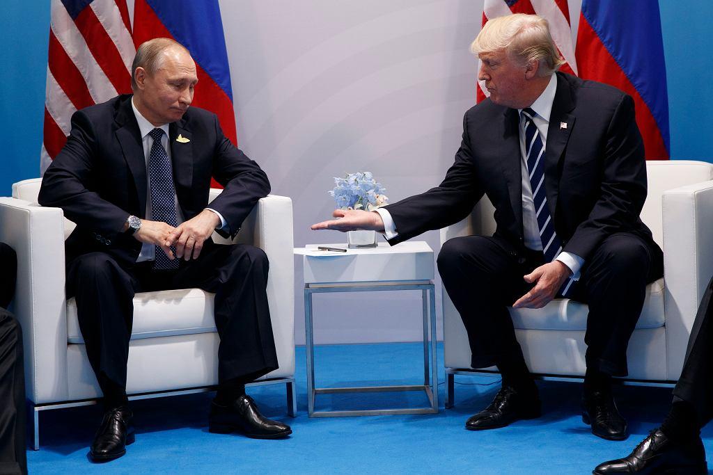 Trump i Putin na szczycie G20