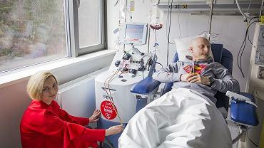 Bez profesjonalnego sprzętu, wsparcia dietetycznego i psychologicznego, pacjenci z nowotworami krwi mają znacznie mniejsze szanse na zwycięstwo