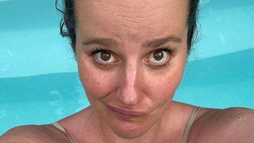 Zofia Zborowska pokazuje 'rzeczywistość' kobiety przed porodem. 'Czy ja jeszcze kiedyś ujrzę swoje stopy?'