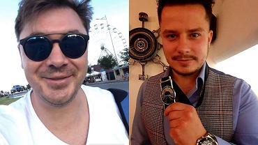 Daniel Martyniuk i Rafał Collins