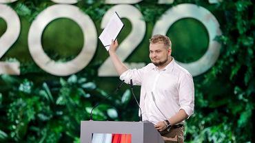 Michał Moskal, przewodniczący Forum Młodych PiS