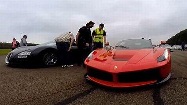 Bugatti Veyron vs. Ferrari LaFerrari