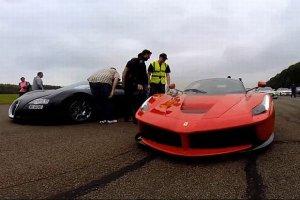 Wideo | Bugatti Veyron vs. Ferrari LaFerrari | Bogowie prędkości