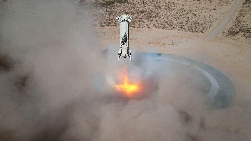 Blue Origin - statek New Shepard
