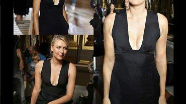 Maria Szarapowa pojawiła się na Paris Fashion Week w roli modelki Stelli McCartney. Od góry wyglądała zjawiskowo i zapierała dech w piersiach...