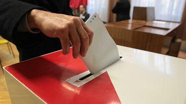 Wybory parlamentarne. Zdjęcie archiwalne