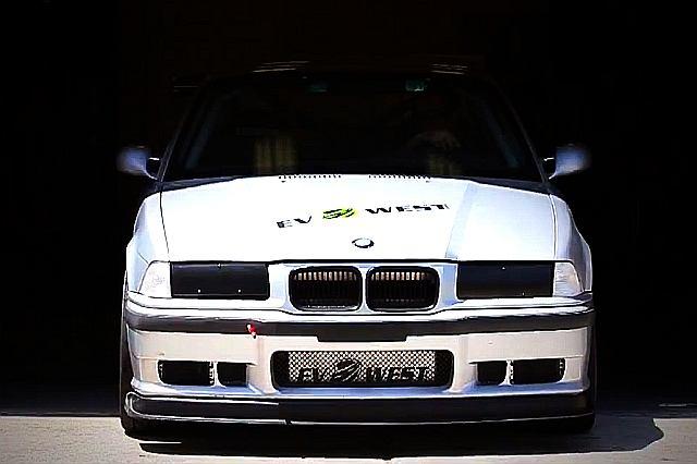 BMW M3 od EV West