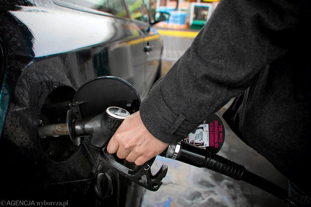Tankowanie paliwa/zdjęcie ilustracyjne