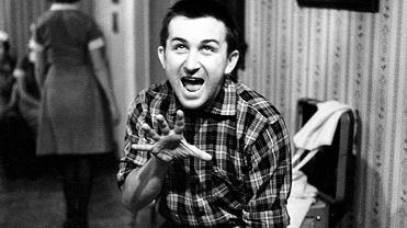 Kazimierz Kutz podczas kręcenia filmu 'Upał', 1964 r.