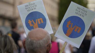 Protesty ws. 'lex TVN'