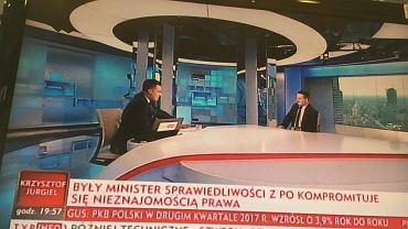 Borys Budka pod ostrzałem TVP